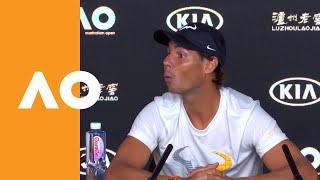 Rafa's fun with snoozing reporter | Australian Open 2019