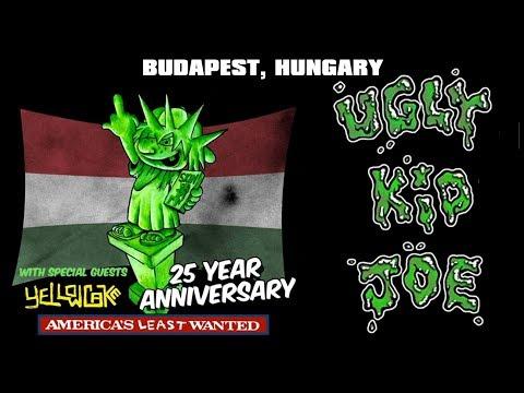 Ugly Kid Joe  + Yellowcake (Budapest, 2018)