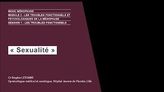 Sexualité – Dr Brigitte LETOMBE