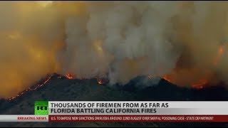 California Fires Won't Let Up