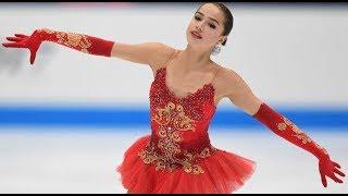 Алина Загитова Олимпиада 2018 Фигурное катание одиночное