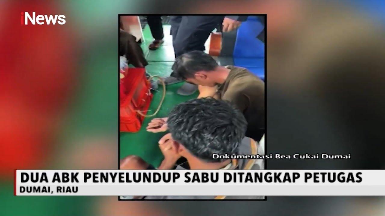 Tim Gabungan Bea Cukai Kejar Kapal Penyeludup Sabu Asal Malaysia - iNews Sore 09/08
