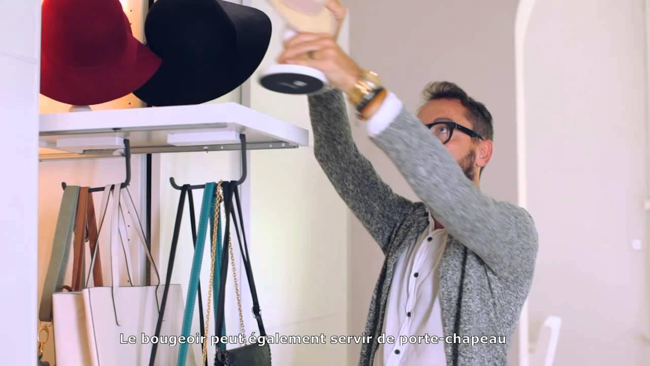 Trucs astuces ikea 9 ranger intelligemment les sacs - Astuce rangement sac a main ...