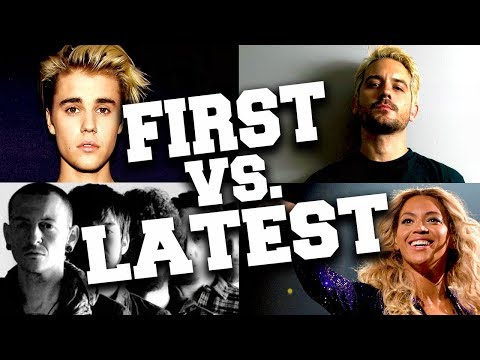 Artists with Their First and Latest Songs #2