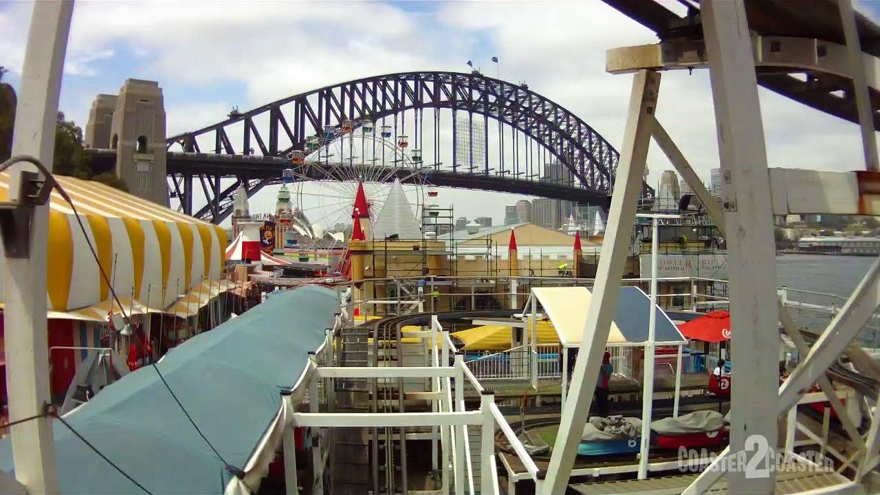 Wild Mouse Coaster POV - Luna Park - Sydney, New South ...  Luna
