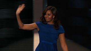 Michelle Obama's entire Democractic convention speech