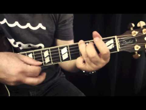The Water Is Wide Guitar Lesson Youtube