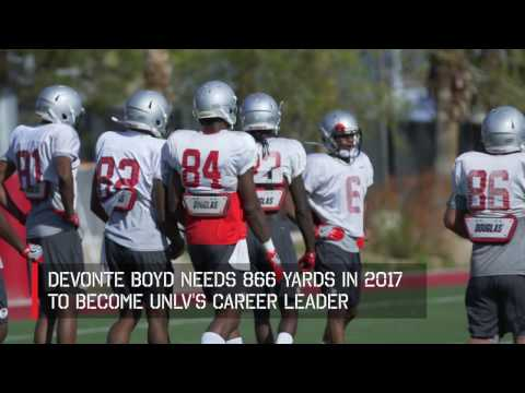 UNLV Football - Wide Receivers (March 17, 2017)