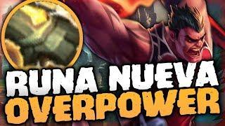 ¡¿EL NUEVO REY DEL DAÑO VERDADERO!? - KILL POR MINUTO - ¡NUEVA RUNA OVERPOWERED! | DARIUS TOP PBE