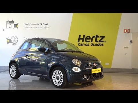 Fiat 500 1.2 Lounge Review - Hertz Carros Usados