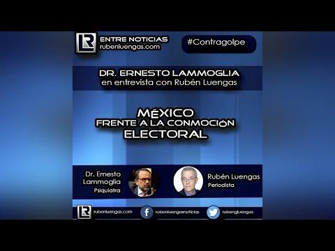 México frente a la conmoción electoral | Ernesto Lammoglia en entrevista con Rubén Luengas
