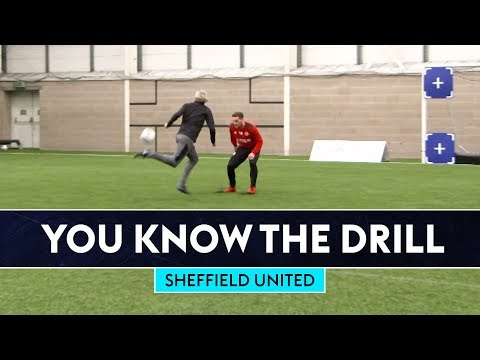 Bullard Rainbow Flicks Billy Sharp!! | You Know The FIFA Drill | Sheffield United