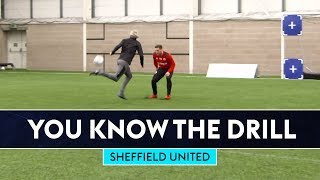 Bullard Rainbow Flicks Billy Sharp!! | You Know The FIFA Drill | Sheffield United