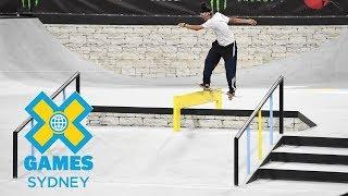 Women's Skateboard Street Final: FULL SHOW | X Games Sydney 2018