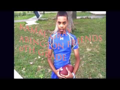 Philly Football Academy/PA SWAG -Kamal Gray - Abington Friends - 6th Grade