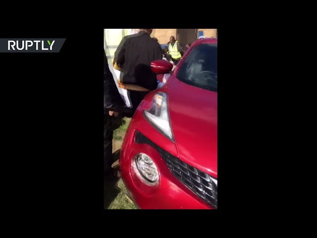 RAW: Car plows into crowd at Eid event in UK, 6 injured, 'not believed to be terror'