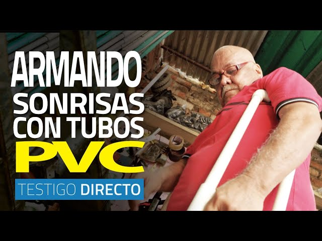 Armando sonrisas con tubos de PVC (una historia que te inspirará esta navidad) - Testigo Directo HD
