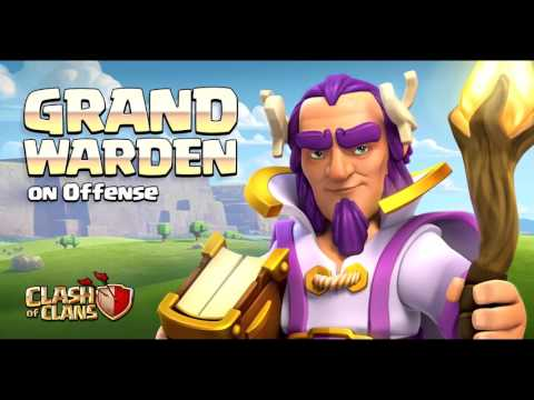 Clash Of Clans greece - NEW HERO!!!!!