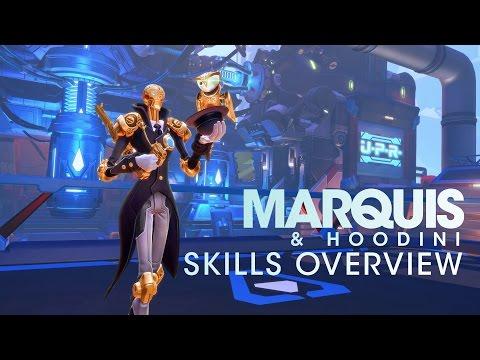 Battleborn: Marquis Skills Overview