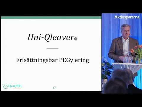 Aktiedagen Stockholm 5 mars – QuiaPEG Pharmaceuticals