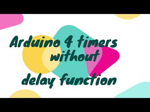 Arduino Timer Without Delay() Function
