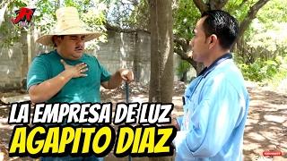 Agapito Diaz  y la empresa de luz - JR INN