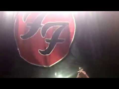 Foo Fighters LIVE - All My Life (opening song) - Milton Keynes National Bowl - 6th September 2015