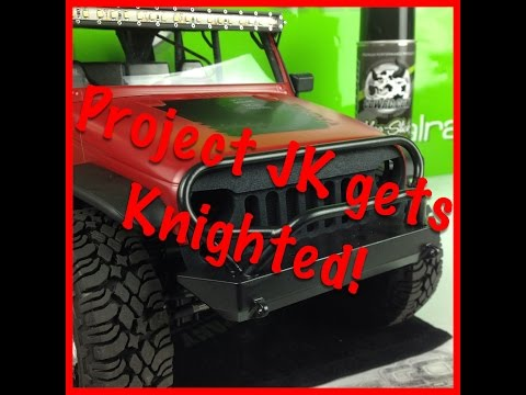 Knight Customs Angry Eye Grill - Project JK - Product Review