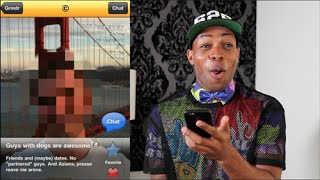 Repeat youtube video Gay Guys React To Racist Grindr Profiles!