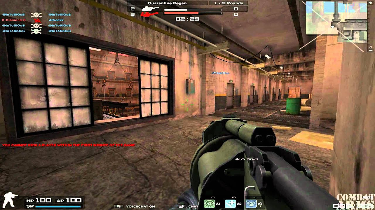 Download -iNotoRiOus Combat Arms - Hacking