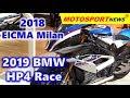 2019 BMW HP4 Race ǀ 2018 EICMA Milan