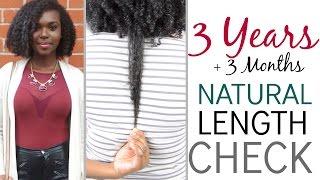 3 years natural length check