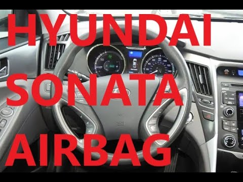 How to Replace Steering Wheel Airbag 2011 Hyundai Sonata 2012 2013 2014