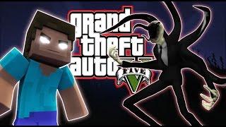 GTA 5 | Slender Man vs Herobrine