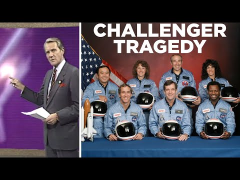 Space Shuttle Challenger explosion: Original news coverage