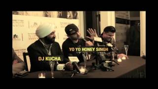 Yo Yo Honey Singh. First time New York City, Press Release of Blue Eyes