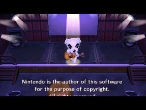 "Animal Crossing: New Leaf - K.K. Slider's ""fake"" songs"