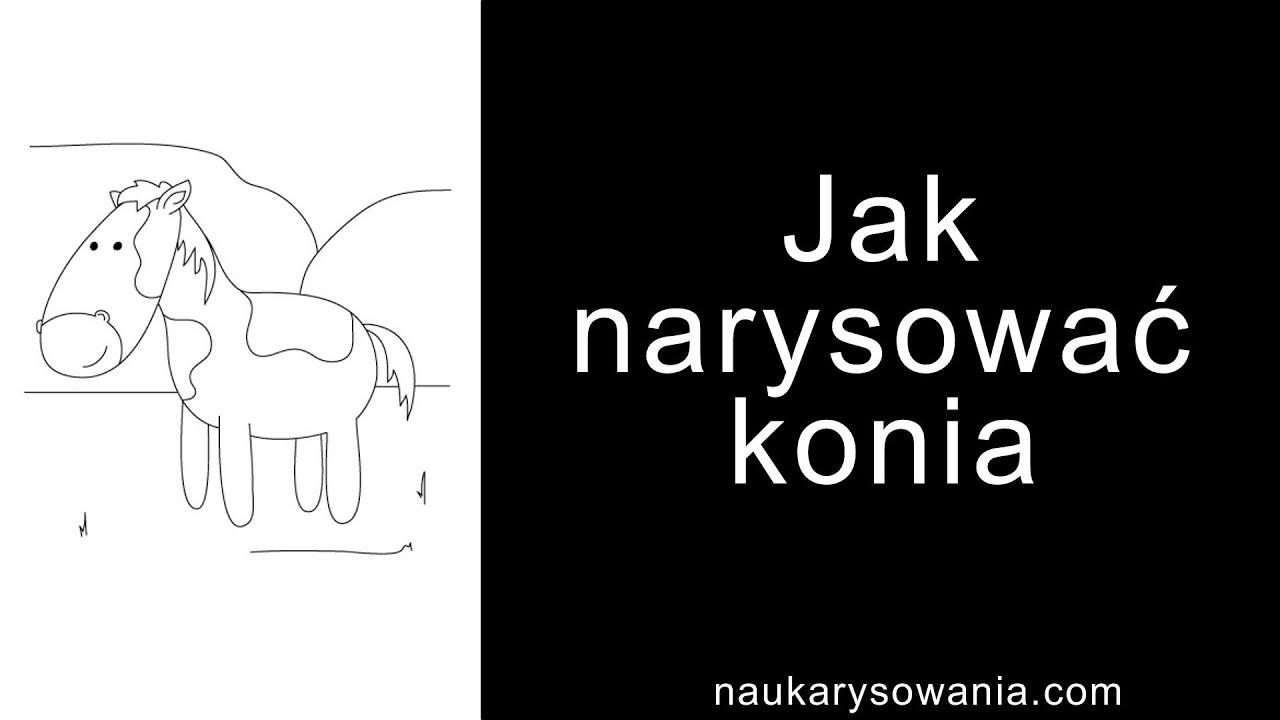 Jak Narysować Konia Rysowanie Konia Krok Po Kroku Youtube