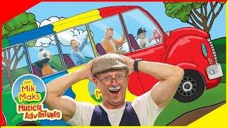 Wheels on the Bus | Part 2 | Nursery Rhymes and Kids Songs | The Mik Maks