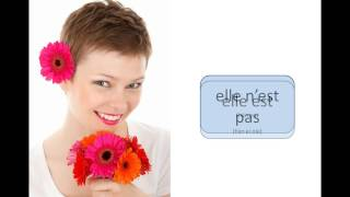 Ranskan être-verbin kielteinen taivutus