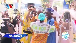 HUYU NDIO NASEEB JUNIOR/ALIVYOTOKA NJE RASMI/MASTAA MBALIMBALI WAMPOKEA KWA SHANGWE