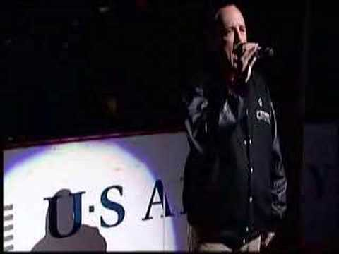 Patrick Lauder National Anthem Coyotes vs Oilers