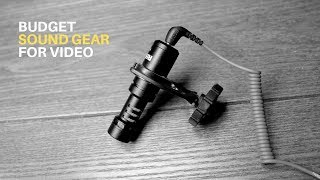 Budget Sound Gear For Your Videos