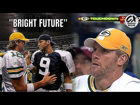 The Game Aaron Rodgers Impressed & Brett Favre Knew IT WAS OVER In Green Bay