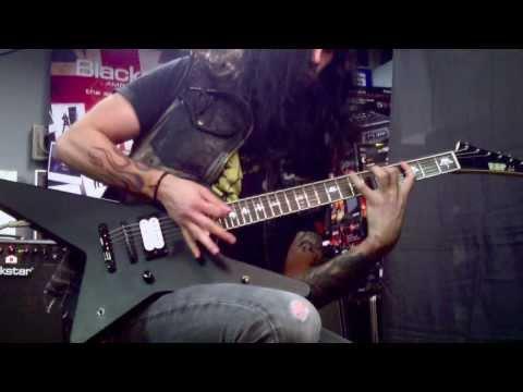 Gus G. - Insanity (Amp: Blackstar HT METAL 5) @ 渋谷,Tokyo (Amp Clinic Japan 2013) Guitar