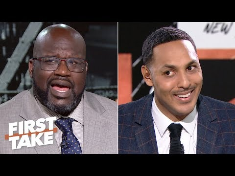 Shaq in shock after Hollins says neither Kobe nor MJ can fill LeBrons shoes | First Take