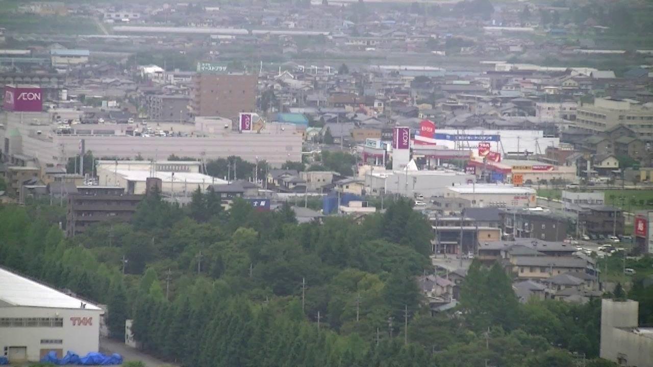 【大森山からの眺望】東根市 - YouTube