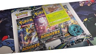 So ein KRASSES Echo des Donners Blister! Battle gegen AuRiZeros TCG Pokemon Booster Unboxing Opening