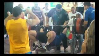 Viktor Naydenov 375 kg @ 122 bench press