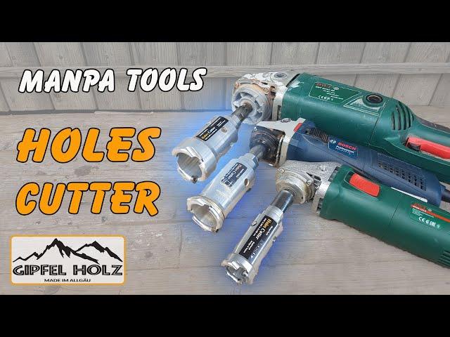Perfekt zum Aushöhlen | Manpa Tools Holes Cutter | Test, Erfahrung und Vorstellung
